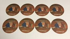 Lone Star Beer Coaster - 2014 Fort Worth, Texas; Lot of 8