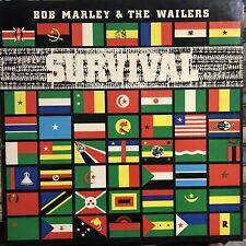 BOB MARLEY & THE WAILERS • Survival • Vinile LP • 1979 ISLAND
