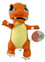 "Vintage Pokemon 1999 9"" Nintendo Stuffed Plush Toy CHARMANDER Play by Play Tags"