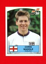 175 ENGLAND WADDLE WITH BACK VERY GOOD Panini EURO 88 N MINT CONDITION!!!