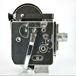 ✅ Paillard Bolex H16 SUPREME 16mm Movie Camera With 25mm Taylor Hobson Lens