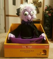 Halloween Spooky Village Animated Count Dracula Candy Dish NWT