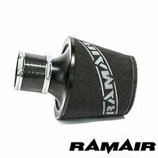 RAMAIR Schwarz L Aluminium Induktionsluftfilter Mit 80Mm Id Kupplung