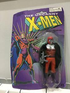 THE UNCANNY X-MEN X MEN action figure vintage sigillato