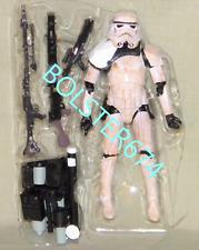 """SANDTROOPER SERGEANT LOOSE Star Wars Black Series Imperial Forces Black 6 """" EE"""