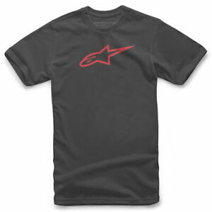 Alpinestars Ageless Classic Fashionable Casual Wear T-Shirt Black / Red