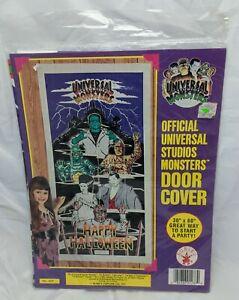 UNIVERSAL MONSTERS Rubies Door Cover ~Dracula/Mummy/Wolf Man/Bride Frankenstein