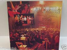 """FABRIZIO DE ANDRE' """"IN CONCERTO - ARRANGIAMENTI PFM """" VINILE LP"""