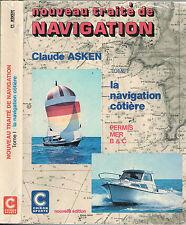 Traité de NAVIGATION Côtière par Claude ASKEN Problème Solution Résultat 1982 T1
