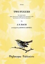 Two Fugues - Score and Parts Johann Sebastian Bach Arr: Arthur Campbell Wind Oct