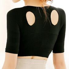 Women Shoulder Back Posture Corrector Chest Support Arm Slimming Belt Brace Pus