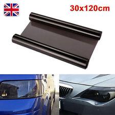 Black 30x120cm Medium Smoke Headlight tail light Tint Film Fog Vinyl waterproof