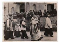 Photo Guerre 1939/45. Ordination de 3 prêtres soldats par l'évêque de Verdun