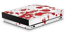 Xbox One X Aufkleber Skin Klebefolie Schutzfolie Sticker Skins Decal Blood