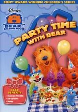 Bear In The Big Blue House Party Time DVD Kids Children Song Toddler Music Sing
