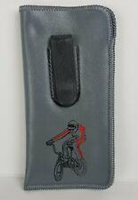 Vintage 80s Retro Glasses Pocket Case BMX bike