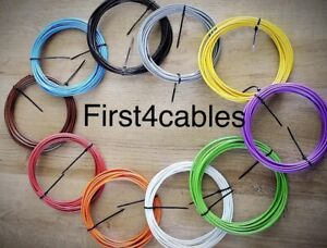 Auto Loom Cable 18awg 1.0mm Bundle 17 Amp 10 Cols 5mtrs Van Car Electrical Tri