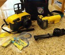Sea & Sea Motor Marine 35 MX-10 Yellow Underwater  Camera Set w/Samsonite bag