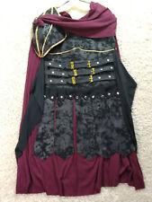 Medieval Knight Costume Mens Small Roman Warrior Cosplay Halloween Cloak 1197