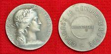 Médaille de la Chambre des Métiers de l'Eure, apprentissage