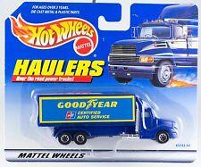 Hot Wheels Haulers Good Year Goodyear Truck New On Card 1998
