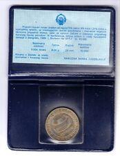 "YUGOSLAVIA 1989 MINT SET  5000 DINAR  CU-NI ""NON-ALIGNED SUMMINT ""  UNC   KM:135"