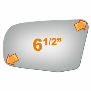 New Flat Driver Side Manual Replacement Mirror Glass For 1981-1985 Mazda GLC