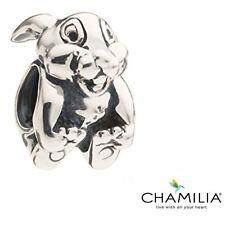 Rare retired Chamilia silver 925 Disney Thumper rabbit bracelet charm DIS-30