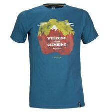 La Sportiva Welcome Tee (M) Ocean / Citronelle