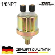 Öldruckgeber Öldruck Sensor 0-10 Bar 1/8 NPT Raid Depo Öldruckanzeige Geber DHL