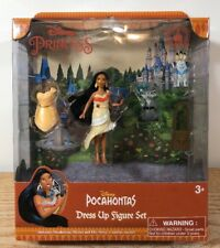 NEW Disney Princess Pocahontas Magic Clip Magiclip Dress Polly Pocket Doll Set