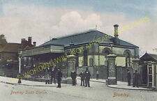 Bromley South Railway Station Photo. Bickley - Shortlands. Orpington Line. (8)