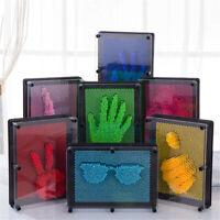 Neuheit 3D DIY Klon Fingerabdruck Nadel Antistress Relief Spielzeug, Für Kinder