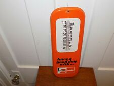 Vintage Fram Autolite Metal Thermometer