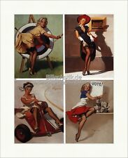 Girl with Arrow Archery gil evergren dinero elegir neumáticos son impresiones artísticas pin up 062