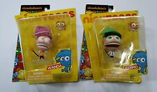 "Nicktoons Nickelodeon Wanda & Cosmo w/Accessory 3""  Faitly Odd Family Figues"