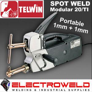TELWIN HAND HELD SPOT WELDER MODULAR 20/TI PORTABLE SHEET METAL WELDING WELD
