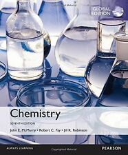 Chemistry by John McMurry, Robert Fay and Jill Kirsten Robinson (GLOBAL EDITION)