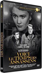 Jean Gabin-DVD -Voici le temps des assassins-NEUF- sous cellophane-Zone 2(1956)