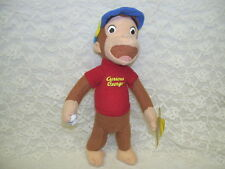CURIOUS GEORGE SOFT SCULPTURE FIGURE BY KELLY TOY 2009