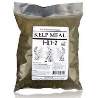 KELP Meal Organic Kelp Natural Fertilizer in Bulk