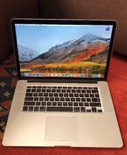 """Retina MacBook Pro15"""" 2.6 Ghz i7 16GB,2GB VIDEO Office Logic X Final Cut X"""
