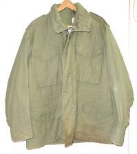 U.S. Vietnam Era Og 107 M-65 Field Jacket in Large Regular-1969