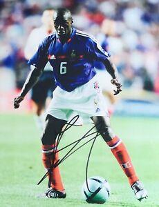 Claude Makelele signed France Image A 10x8 photo UACC Registered dealer RACC