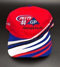 Buckshot Jones #44 Petty Georgia Pacific Racing Adjustable Hat NASCAR Red