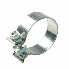 """(2qty) 3"""" Inch T409 Stainless Steel Narrow Band Exhaust Clamps Seal Band"""