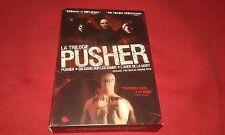 LA TRILOGIE PUSHER / DU SANG SUR LES MAINS / L'ANGE DE LA MORT COFFRET 4 DVD