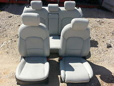 14 Kia Cadenza white leather seats
