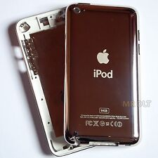 White 64GB iPod Touch 4 Generation Housing Rear Metal 64 Back Cover 4th Case UK