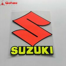 Motorcycle Fuel Tank Fairing Badge Emblem Decal Sticker For Suzuki Racing S Logo